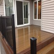 Wood Deck Installation