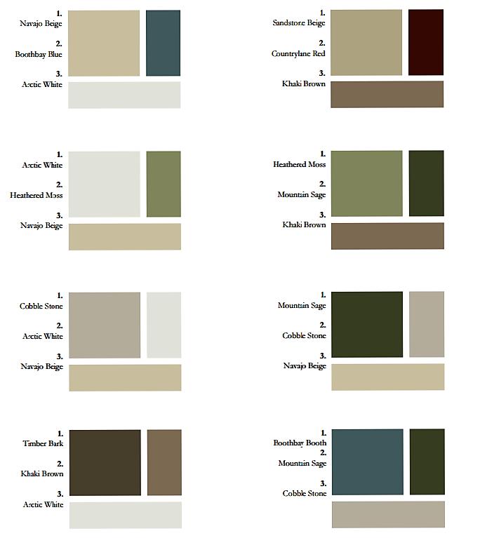 Sidingcolors